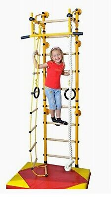 £281 • Buy NiroSport FitTop M2 Indoor Jungle Gym Wall Bars For Kids (RED) RRP £399