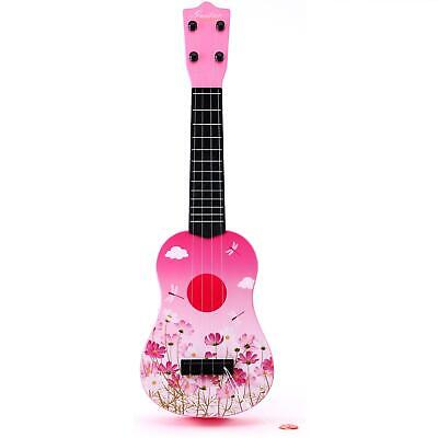 £13.99 • Buy Childrens 21'' Pink Acoustic Guitar Kids Toy Musical Instrument Childs Xmas Gift
