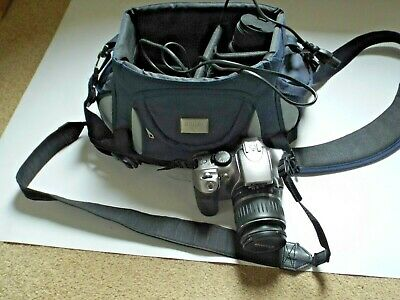 £125 • Buy Canon EOS 300D Camera Kit With Lenses, Filters Case Etc..