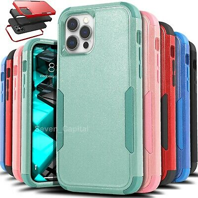 AU10.63 • Buy Shockproof Phone Case For IPhone 12 11 Pro Max Xr Xs Max 6 6s 8 7 Plus SE Cover