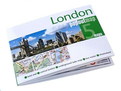 £4.99 • Buy Popout Pocket Map Of London