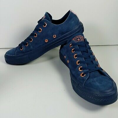 £27.99 • Buy Converse Chuck Taylor All Star Suede Low Top - Navy Blue - Size 5.5