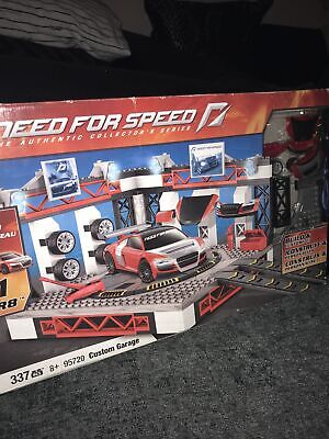 £19.99 • Buy Mega Bloks 95720 Need For Speed Authentic Custom Garage Complete Boxed Low PP