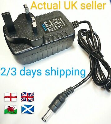 £8.39 • Buy Replacement Power Supply For The Yamaha Dd-55c Digital Drum Machine Adapter 12v