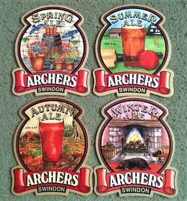 £0.99 • Buy Four Archers Brewery Real Ale Beer Pump Clips