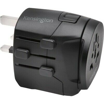 AU90.31 • Buy NEW KENSINGTON K38238WW Kensington Travel Adapter - Grounded 3-Prong With Dual