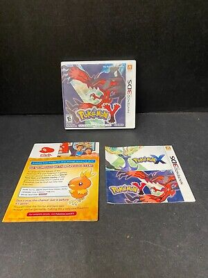 $19.95 • Buy Pokemon Y DS NO Game Case Manual Artwork ONLY