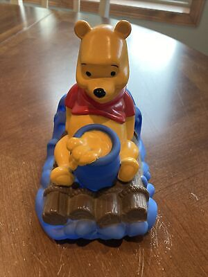 £14.46 • Buy Vintage WINNIE THE POOH Safety Bath Tub Spout Cover Disney Shower First Years
