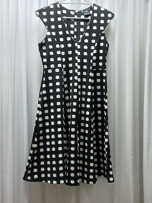AU29 • Buy Black And White Spot Maternity Dress Size 12 By ASOS, Like New. Worn Once.