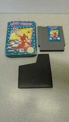 £17.99 • Buy Tom & Jerry - Nintendo NES PAL Game Cart In Box - Tested & Working