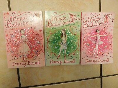 £8 • Buy 'magic Ballerina' 3 Book Bundle By Darcey Bussell (paperback)