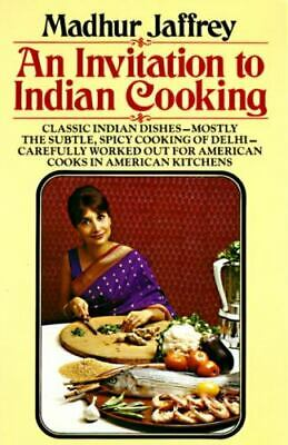 £9.42 • Buy An Invitation To Indian Cooking - Paperback By Jaffrey, Madhur - GOOD