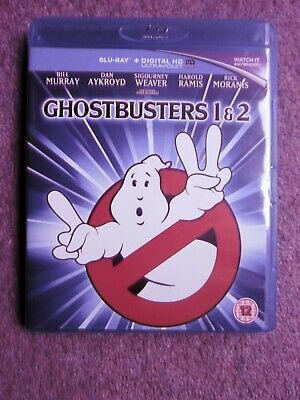 £5.95 • Buy Ghostbusters/Ghostbusters 2 [Blu-ray] - DVD BOTH IVGC NO SLIPCOVER FREE POST