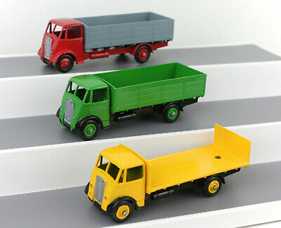£82.99 • Buy DINKY TOYS 511/513 Guy Lorrys Set Of 3 CODE 3/RESTORED/REPAINTED + Repro Boxes