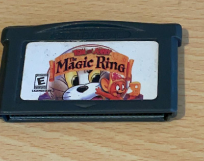 £4.95 • Buy Tom And Jerry The Magic Ring ~ Gameboy Advance (Cart Only Tested Working)