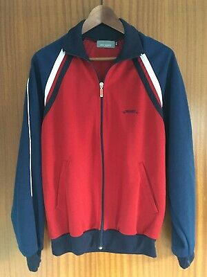 £13.99 • Buy Eric Munro Retro Track Top - Small - GB Red Blue UK  Jacket Indie Mod Tracksuit