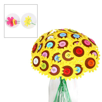 £7.64 • Buy 1 Set Of Button Bouquet Early Learning Material Package For Kids Children