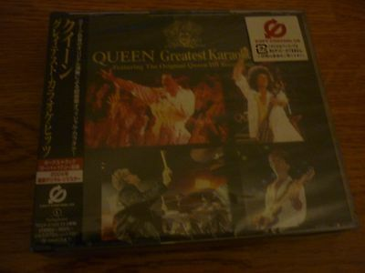 £89.99 • Buy QUEEN GREATEST KARAOKE HITS - JAPAN - 2 Disc Set New And Sealed