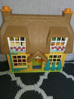 £24.99 • Buy Dolls House With Fitted Furniture And Sound  Effects  Possibly Happyland ELC TS