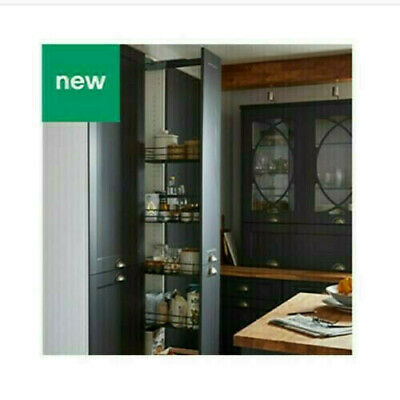 £139.99 • Buy PULL OUT TALL LARDER UNIT WITH 5 BASKETS FOR 300MM (30cm) B&Q Goodhome