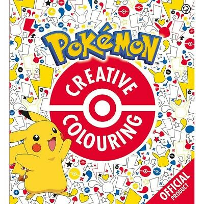 £6 • Buy The Official Pokemon Creative Colouring By Orchard Books (Paperback), Books, New