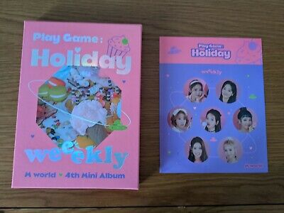 £6 • Buy  Weeekly Play Game Holiday Party No Photocard Kpop Album Cd