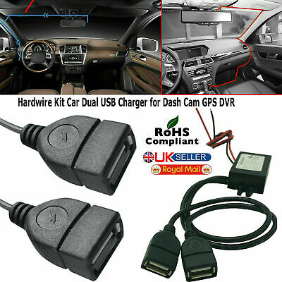 £3.75 • Buy 12V To 5V 3A Dual USB Car Charger DC Converter Connector Module For Mobile Phone