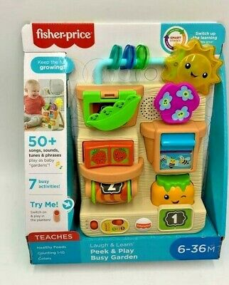 £18 • Buy Fisher Price Laugh & Learn Busy Garden Song Sounds Phases Learning Toy Baby Todd