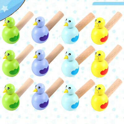 £10.71 • Buy 15pcs Wooden Bird Whistles Creative Bird Whistle For Teenagers Kid Child