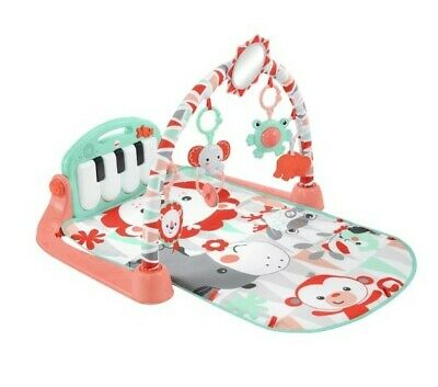 £69.95 • Buy Fisher P BMH49 Kick And Play Piano Gym Baby Play Mat - Green/Blue