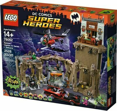 £189.99 • Buy [Collection Only] NEW Lego Batman Classic TV Series Batcave 76052 Adam West