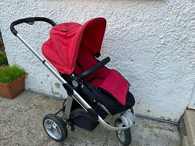 £165 • Buy ICandy Apple Carry Cot And Pushchair - All-terrain 3-wheel Model Tyres With Tube