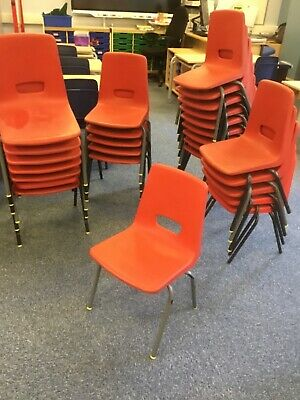 £1.50 • Buy Small Infant Classroom Chairs, Ex School. £1.50 Each