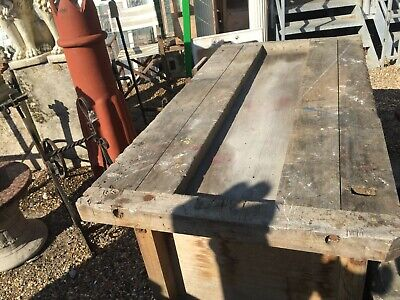 £250 • Buy Old Work Bench With Vice Lots Of Character £250