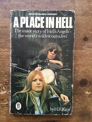 £10 • Buy A Place In Hell H.r.Kaye Hells Angels Outlaw Bikers 1%er 1974 Edition