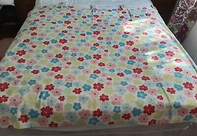 £21 • Buy Cath Kidston Rare Fabric Handmade Tab Top Curtains - In Excellent Condition