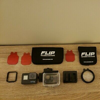 AU413.98 • Buy GoPro HERO6 4K Action Camera - Black - Includes 2 Batteries + Charger + Filters