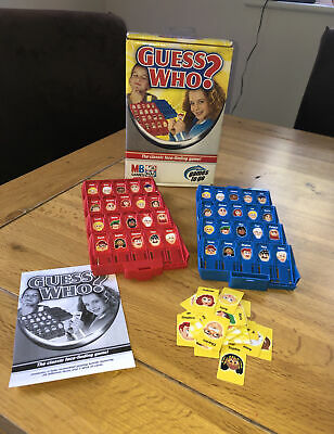 £6 • Buy Guess Who? Classic Face Finding Game Travel Version 2005 MB Games
