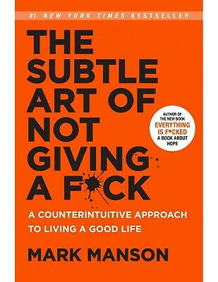 AU27.32 • Buy The Subtle Art Of Not Giving A F Ck 19.January.2017 - A Book For Hope
