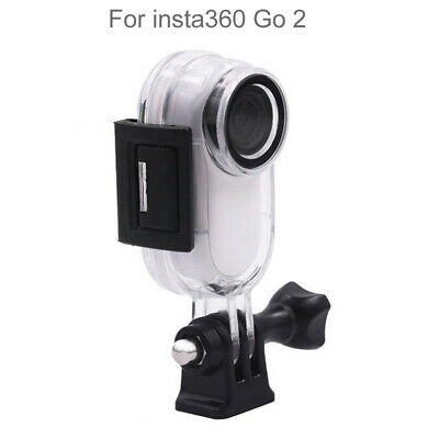 AU18.41 • Buy Waterproof Case For Insta360 GO 2 Camera Protector Underwater Dive Housing Shell