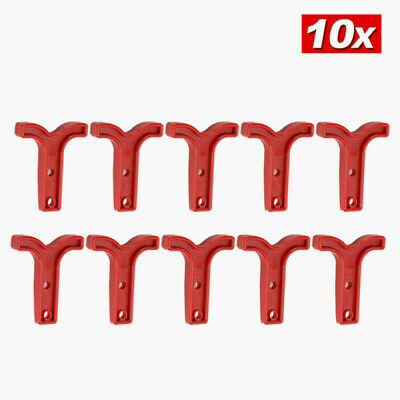 AU9.45 • Buy 10X Red T Bar Handle For Anderson Style Plug Connectors Tool 50AMP 12-24v 6AWG