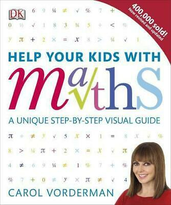 £4.26 • Buy Help Your Kids With Maths, Vorderman, Carol, Good Condition Book, ISBN 978140935