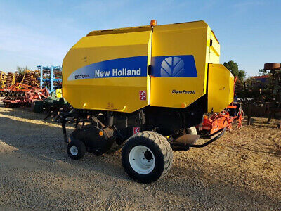£9950 • Buy NEW HOLLAND BR7060 Round Baler, 2011, Super Feed 2, 35000 Bales