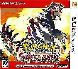 $20 • Buy Pokemon Omega Ruby (3DS, 2014) Replacement Case