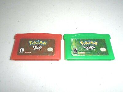 $180.99 • Buy Pokemon FireRed & LeafGreen Version ☆☆ Authentic GameBoy Advance, SP Versions