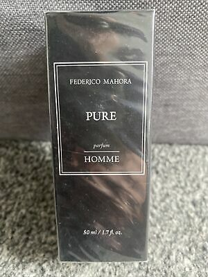 £10.50 • Buy FM 52 Pure Collection Federico Mahora Aftershave For Men 50ml UK