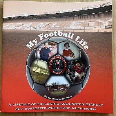 £9 • Buy My Football Life - A Lifetime Of Following Accrington Stanley