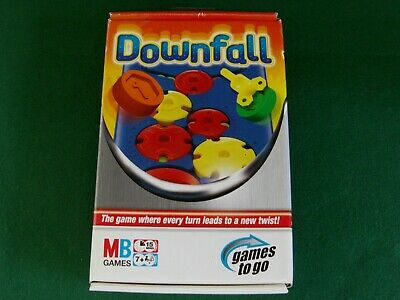 £12.95 • Buy MB Games To Go Travel Downfall (2006) - Complete - Travel Game