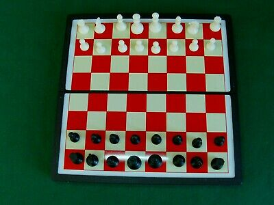 £9.95 • Buy MB Travelpax - Magnetic Chess Vintage Travel Game(1990)