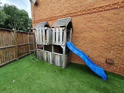 £125 • Buy Wooden Climbing Frame With Slide And Play House